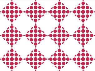 水玉模様のパターンの写真素材 [FYI00297872]