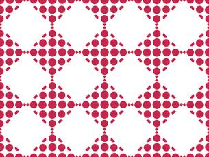 水玉模様のパターンの写真素材 [FYI00297880]