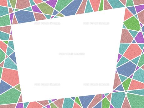 ステンドグラス風フレームの写真素材 [FYI00298157]