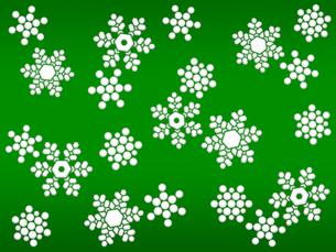 雪の結晶の写真素材 [FYI00298177]