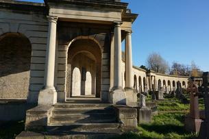 イギリスの墓地の写真素材 [FYI00298435]