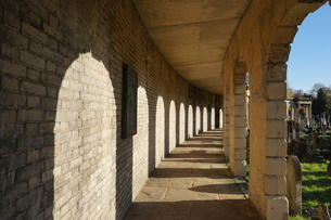 イギリスの墓地の写真素材 [FYI00298440]