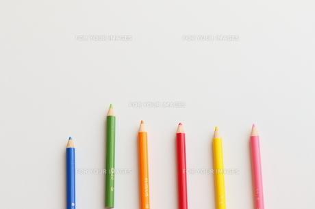 カラフルな色鉛筆の写真素材 [FYI00298443]