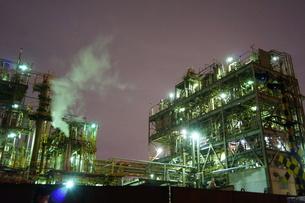 工場夜景の写真素材 [FYI00298446]