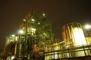 工場夜景の写真素材 [FYI00298447]