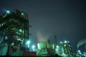工場夜景の写真素材 [FYI00298448]