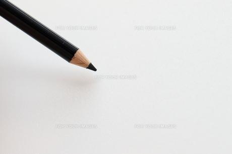 黒色の色鉛筆の写真素材 [FYI00298456]