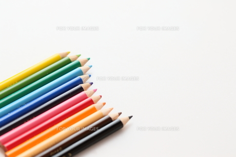 色鉛筆の写真素材 [FYI00298461]