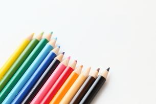 色鉛筆の写真素材 [FYI00298483]