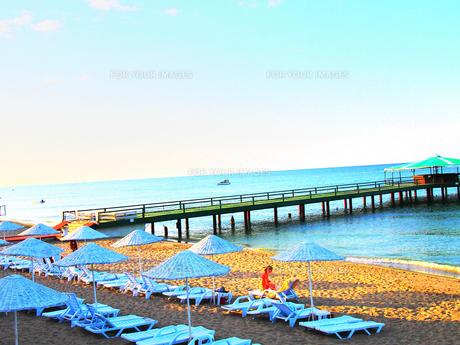 トルコのビーチの素材 [FYI00298490]