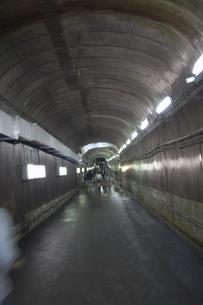 黒部ダムのトンネルの写真素材 [FYI00298555]