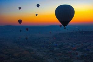 気球 カッパドキアの写真素材 [FYI00299127]