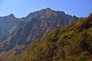 谷川岳マチガ沢・アップの写真素材 [FYI00299129]