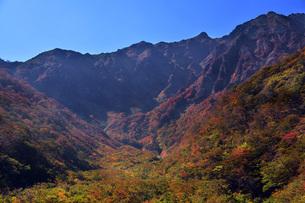 谷川岳マチガ沢・遠景の写真素材 [FYI00299131]