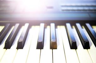 サンプリングピアノの写真素材 [FYI00299296]