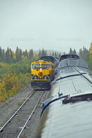 アラスカ鉄道の写真素材 [FYI00299403]