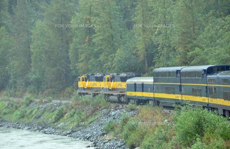 アラスカ鉄道の写真素材 [FYI00299414]