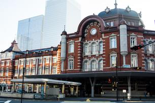 東京駅の写真素材 [FYI00299510]