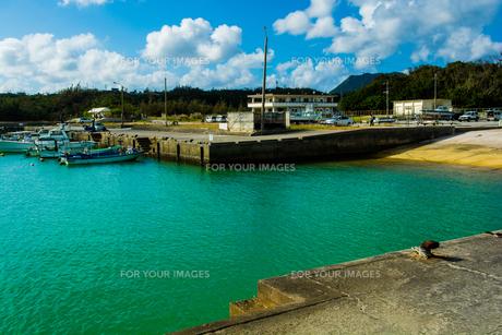 漁港の写真素材 [FYI00299523]