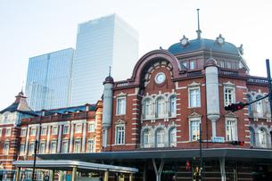 東京駅の写真素材 [FYI00299526]