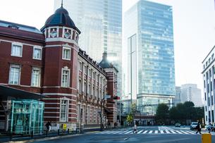 東京駅の写真素材 [FYI00299532]