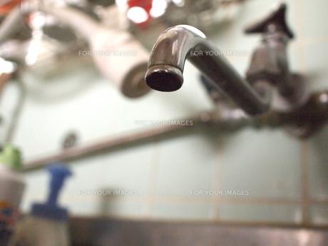 水道の蛇口の写真素材 [FYI00299593]