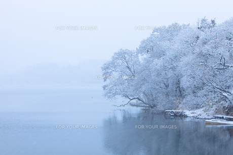 雪景色の写真素材 [FYI00299668]