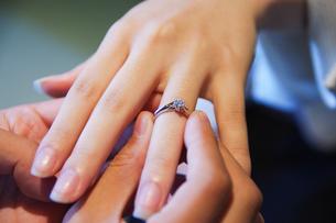 婚約指輪の写真素材 [FYI00299732]