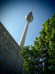 ベルリンテレビ塔の写真素材 [FYI00299761]