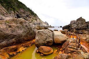 伊豆諸島・式根島・地鉈温泉の写真素材 [FYI00299762]