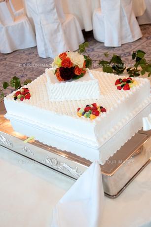 ウェディングケーキの素材 [FYI00300655]