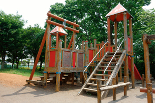 公園遊園施設の写真素材 [FYI00300892]