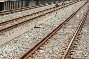 線路の写真素材 [FYI00300906]