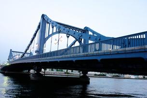 鉄橋の写真素材 [FYI00301050]