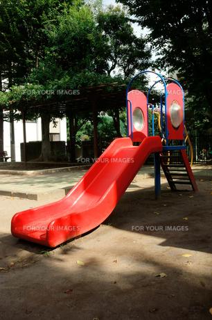 滑り台の写真素材 [FYI00301112]