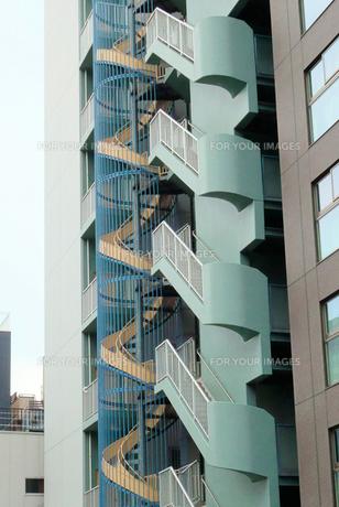螺旋階段の写真素材 [FYI00301501]