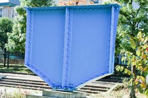 鉄橋のオブジェクトの写真素材 [FYI00301868]