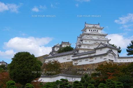 姫路城 天守閣の写真素材 [FYI00302136]