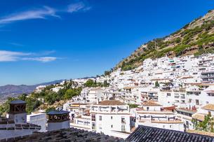 スペイン ミハスの町並みの写真素材 [FYI00302163]