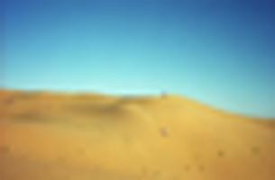 砂漠でソリ遊びの写真素材 [FYI00302198]