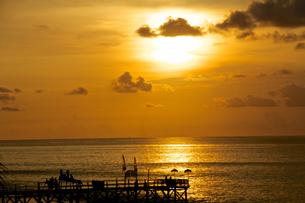 Sunset/Baliの写真素材 [FYI00302491]