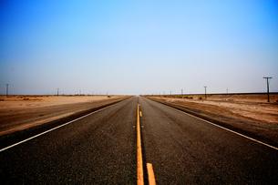 Road/Nevada/America の素材 [FYI00302505]
