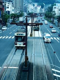路面電車の写真素材 [FYI00302526]