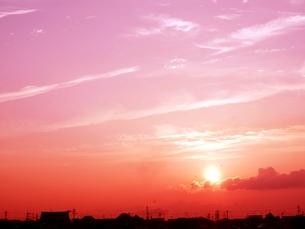 夕刻の写真素材 [FYI00302567]