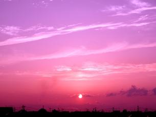 夕刻の写真素材 [FYI00302571]