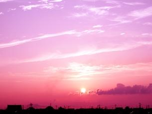 夕刻の写真素材 [FYI00302576]