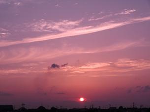 夕刻の写真素材 [FYI00302581]