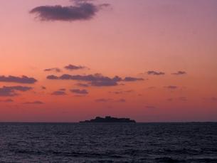 軍艦島の写真素材 [FYI00302654]