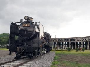 蒸気機関車の素材 [FYI00302694]