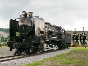 蒸気機関車の素材 [FYI00302699]